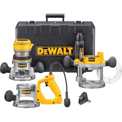 9. DEWALT DW618B3 12 Amp 2-1/4