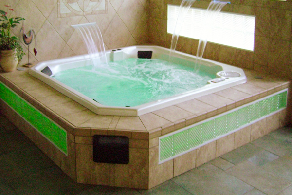 custom made or standard hot tub