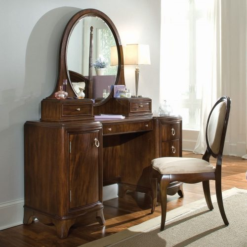 bedroom vanity area