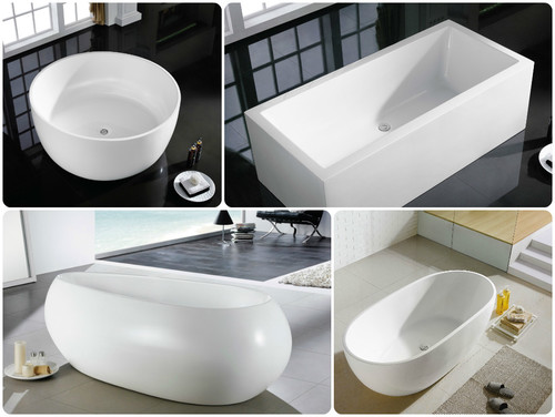 bathtub shape