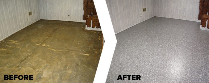 basement concrete coating