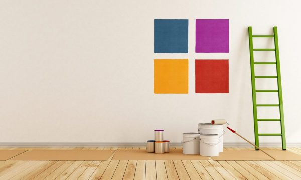 painting in different colors