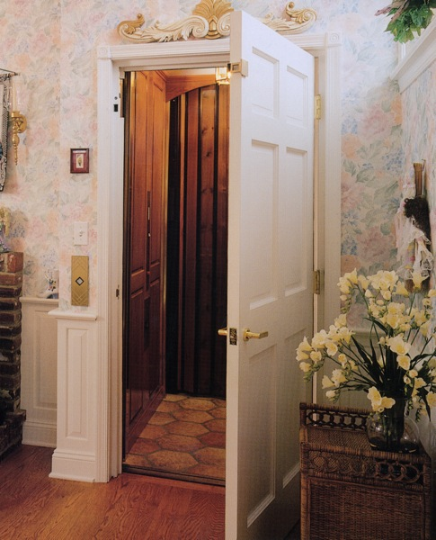 swing hoistway door