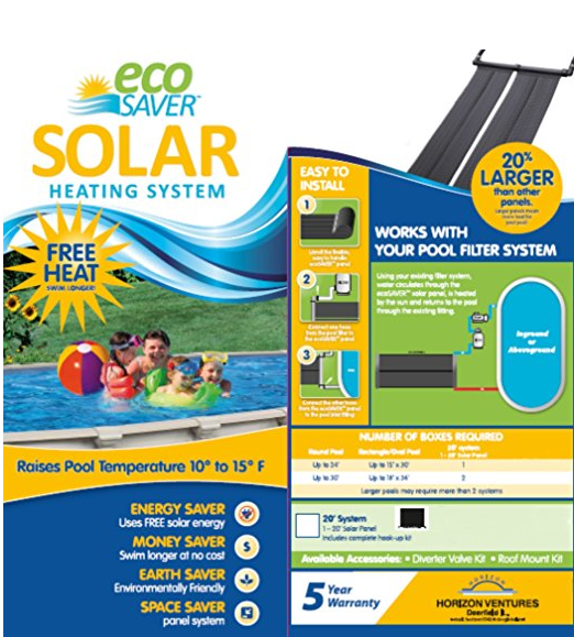 Eco Saver Solar Heating Panel System Review