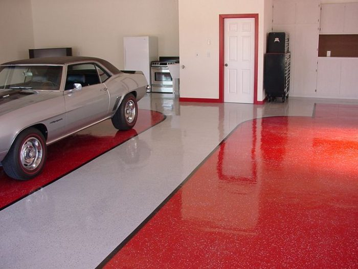 garage floor paint colors