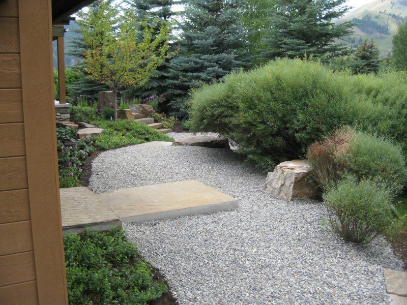 garden gravel base