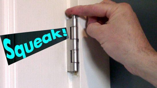 sqeaking door