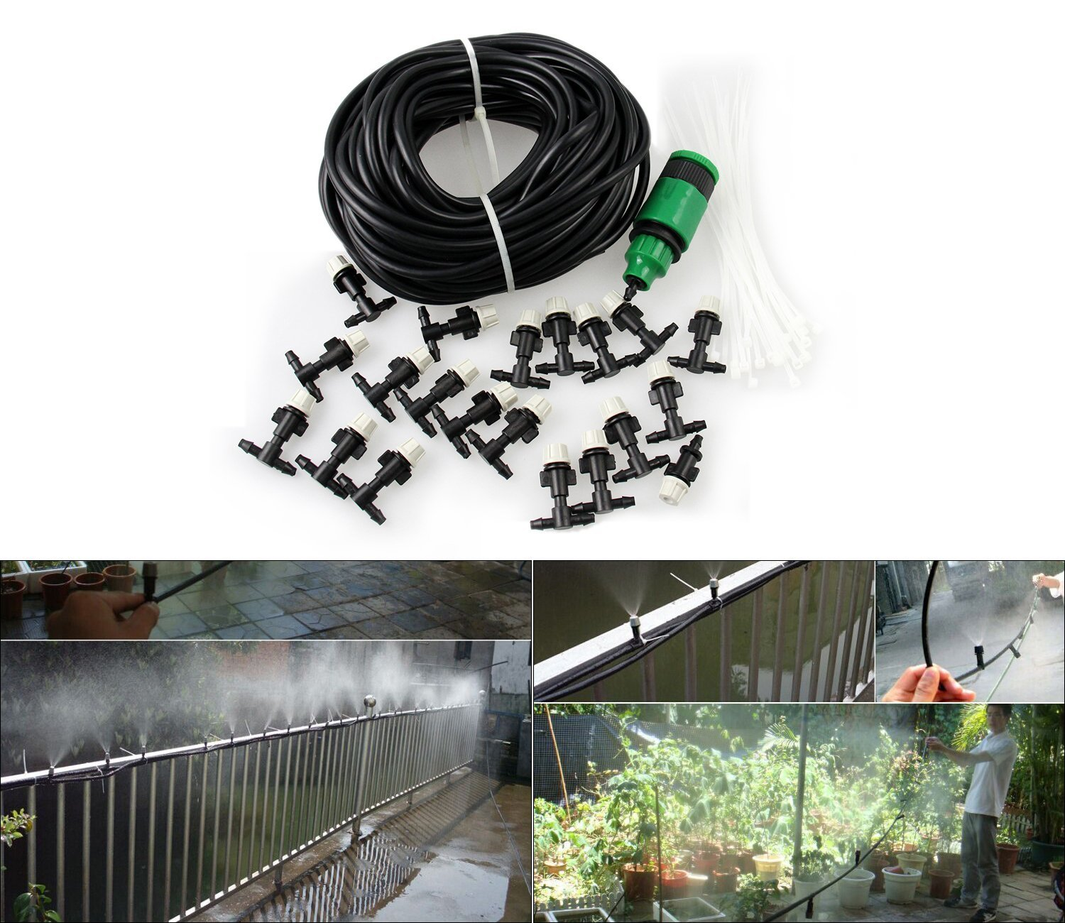 10. Misting Cooling System Carry360