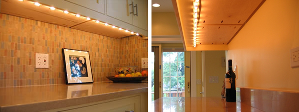 Led Under Cabinet Lighting Cost Installation Earlyexperts