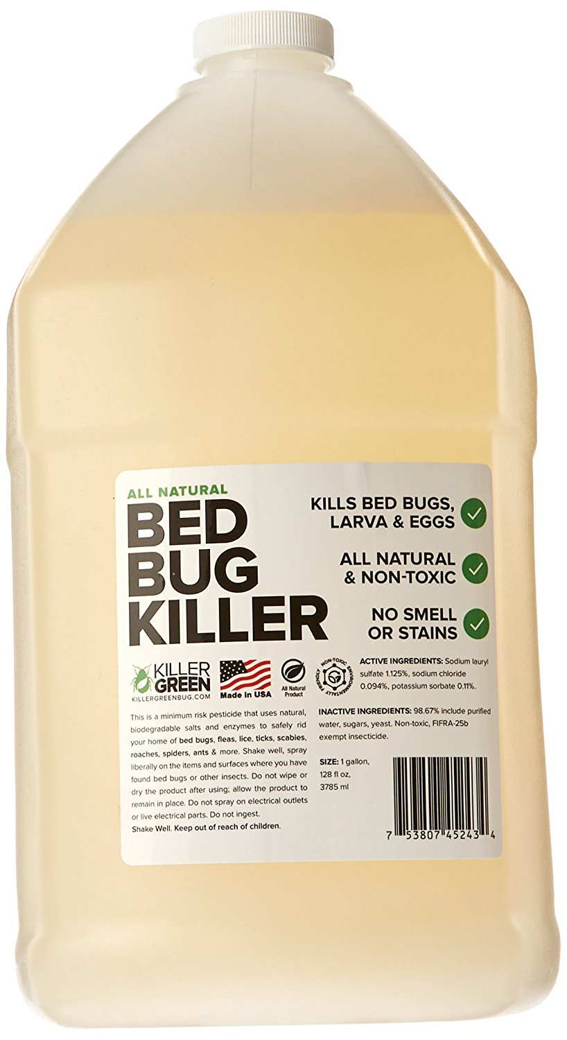 6. Bed Bug Spray By Killer Green