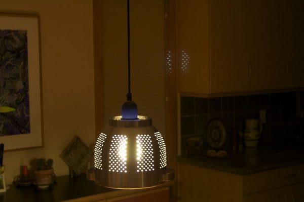 ORDNING colander pendant lighting