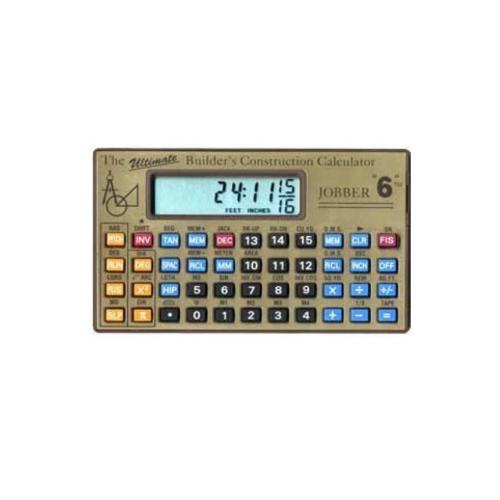 1. Jobber 6 Construction Calculator