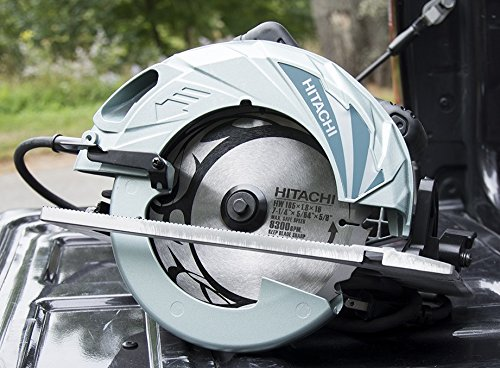 A circular saw made by Hitachi