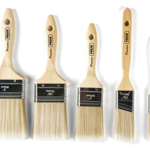 2 Inch 10-Pack Wood Handled Chip Brushes