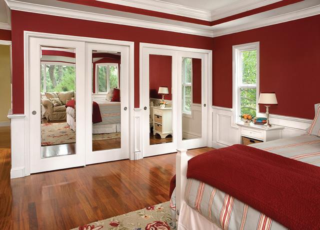 bedroom closet door