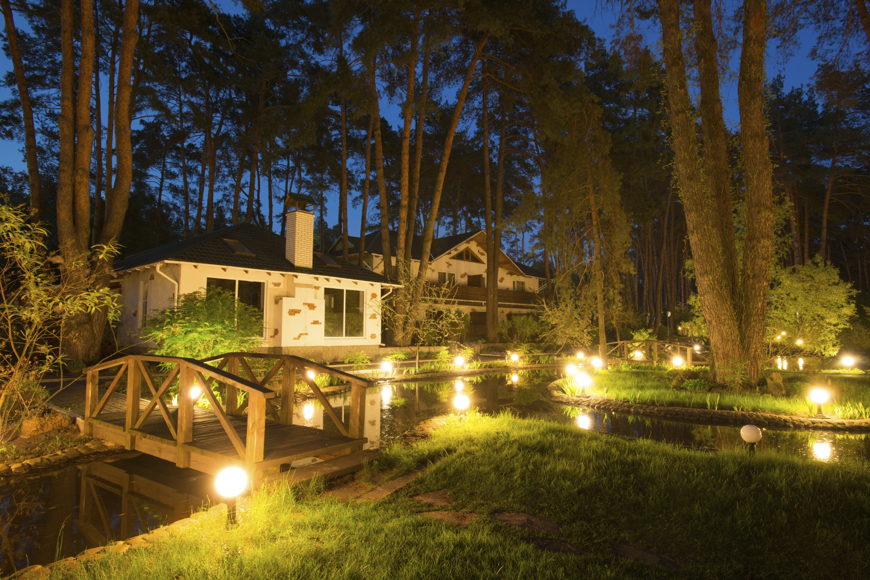 Landscape lighting cost guide in 2018 contractorculture aloadofball Gallery