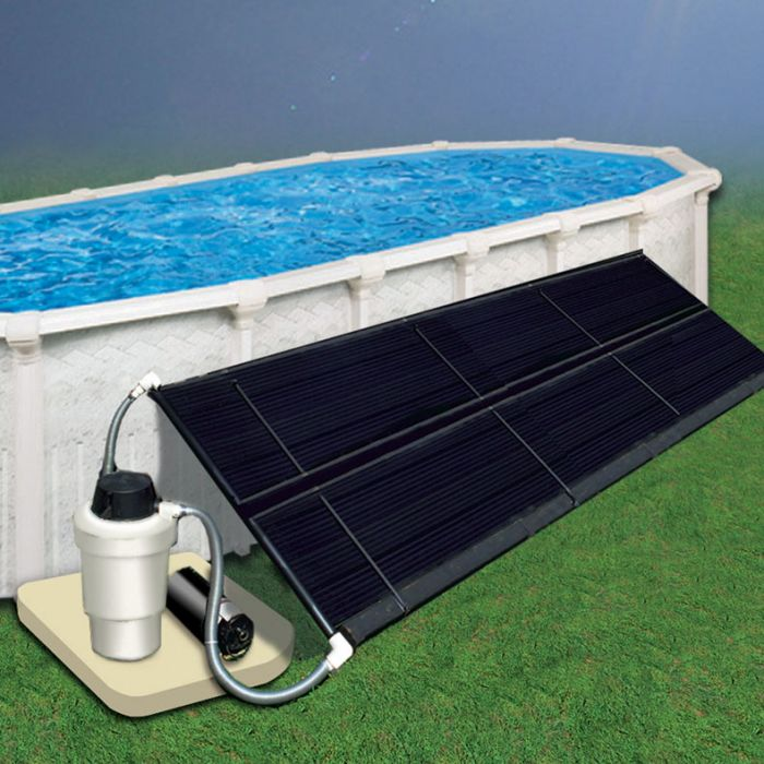 Above Ground Swimming Pool Solar pods used condition 4 available.