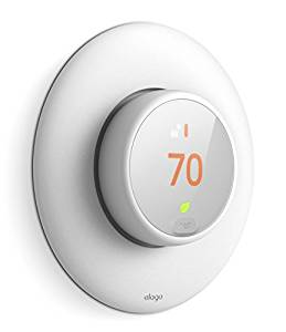elago Wall Plate Cover for Nest Thermostat E [White]