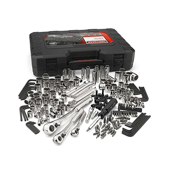 10. Craftsman 230-Piece Set, 50230
