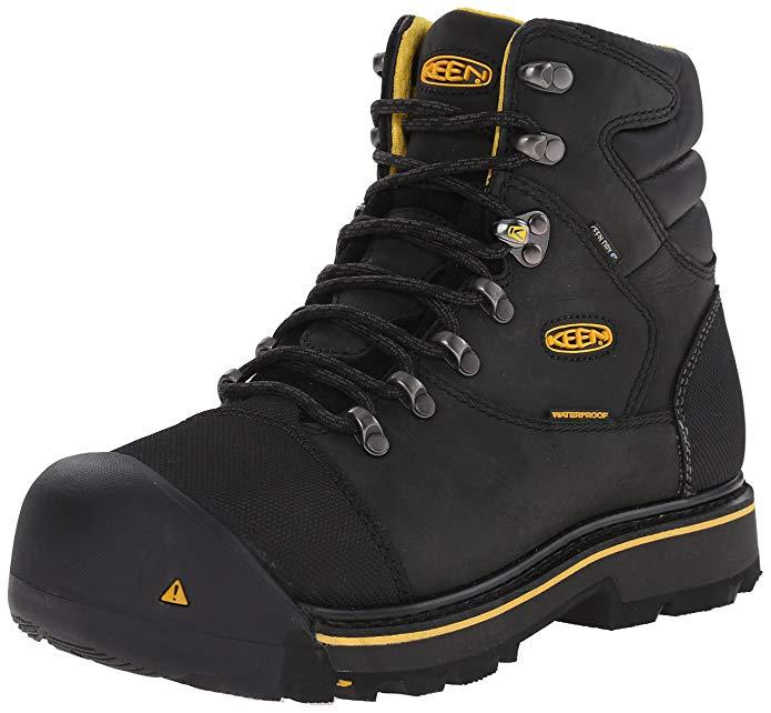 8. KEEN Utility Men's Milwaukee Wide Work Boot