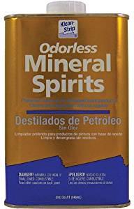 Klean-Strip's odorless mineral spirits