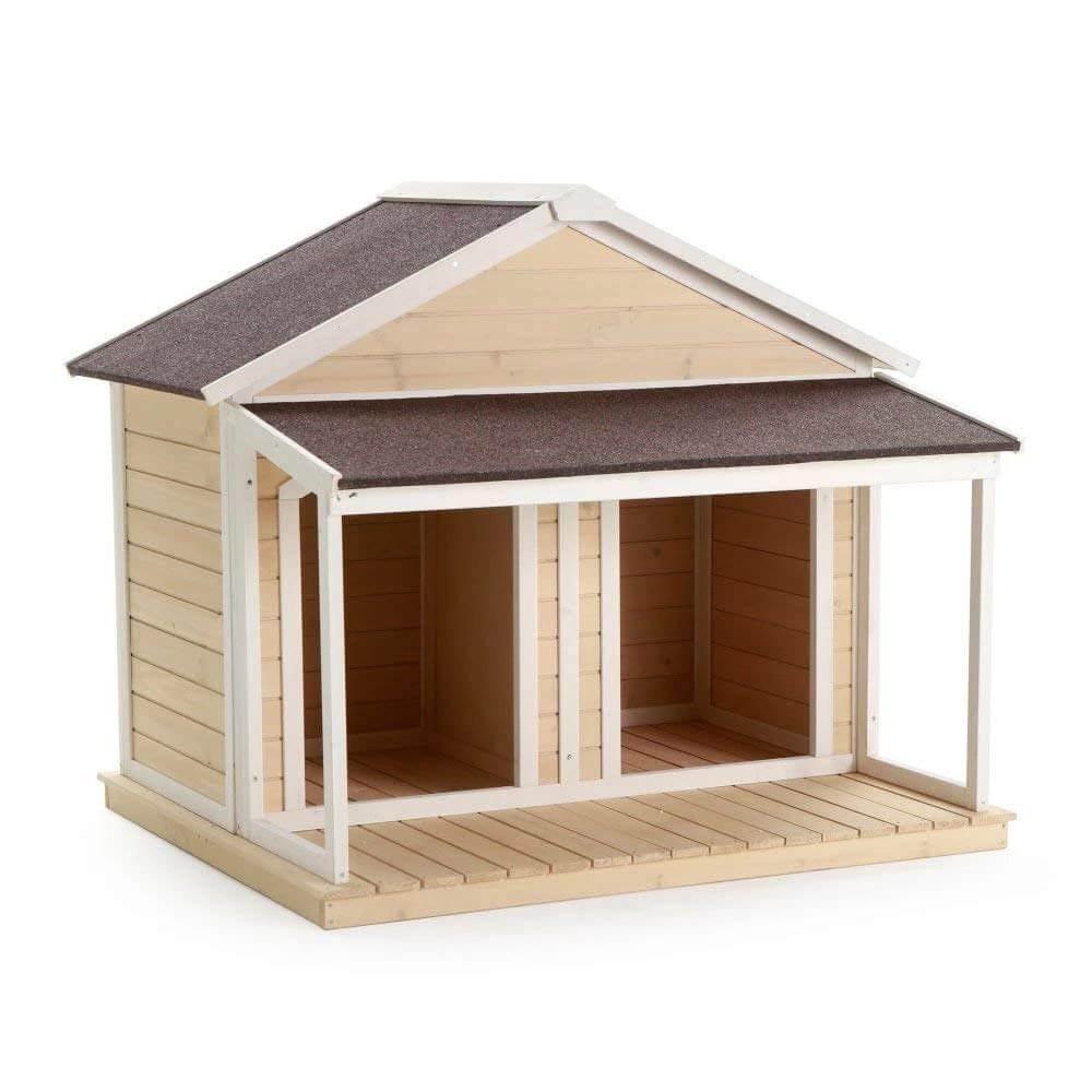 6. Heated Fir Wood Duplex House
