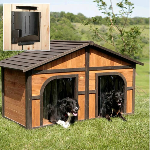 3. Solid Wood Construction Heated Extra House