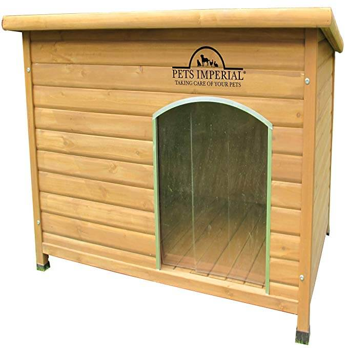 5. Pets Imperial® Extra Large Insulated Norfolk Wooden Dog Kennel