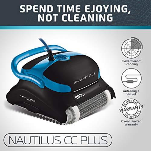 1. Dolphin Nautilus CC Plus Automatic Cleaner