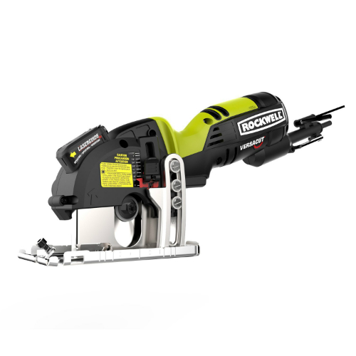1. Rockwell RK3440K Versacut 4.0 Amp Ultra-Compact Circular Saw with Laser Guide