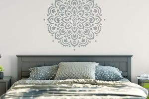 we selected 10 wall stencils that are popular in 2018