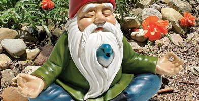 we take a look at the best garden gnomes