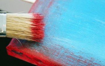 Easiest DIY Rustic Paint Technique for Furniture & Decor