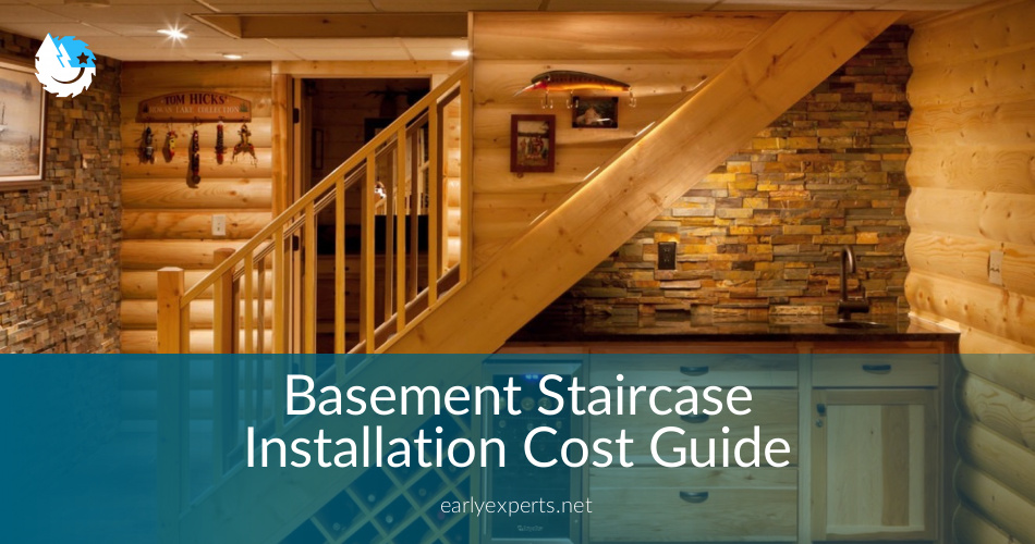 Basement Staircase installation Costs Updated amp Prices in 2018