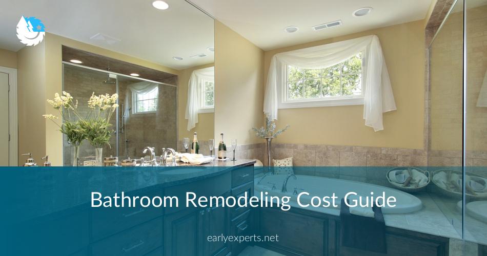 Bathroom Remodel Permit Cost bathroom remodeling cost guide & price breakdown⎮contractorculture