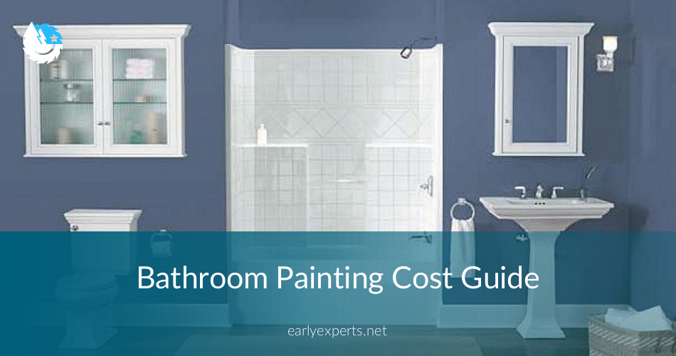 bathroom painting cost break down and details contractorculture. Black Bedroom Furniture Sets. Home Design Ideas