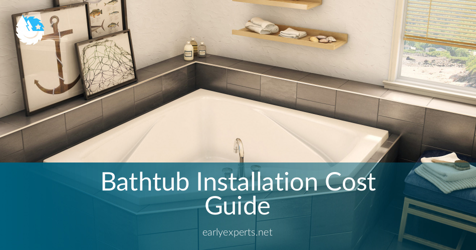 Bathtub Installation Cost Guide and Best Tips ⎮ ContractorCulture