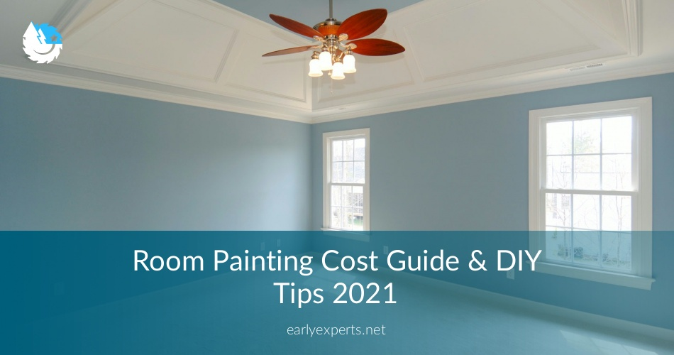 Room Painting Cost Break Down And Details ⎮contractorculture