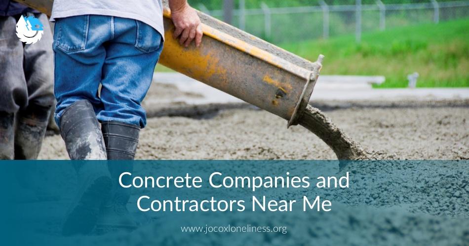 Concrete Companies Amp Contractors Near Me Checklist