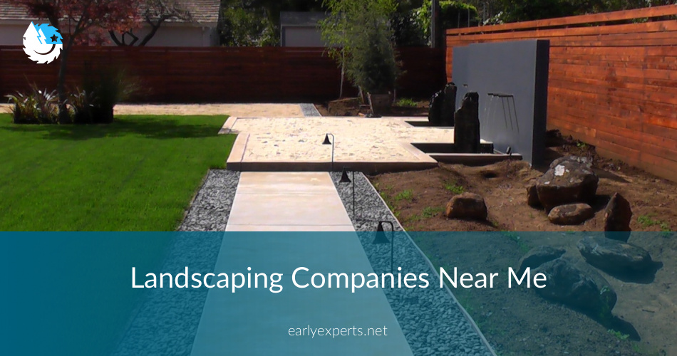 Landscaping Companies Near Me Checklist Price Quotes