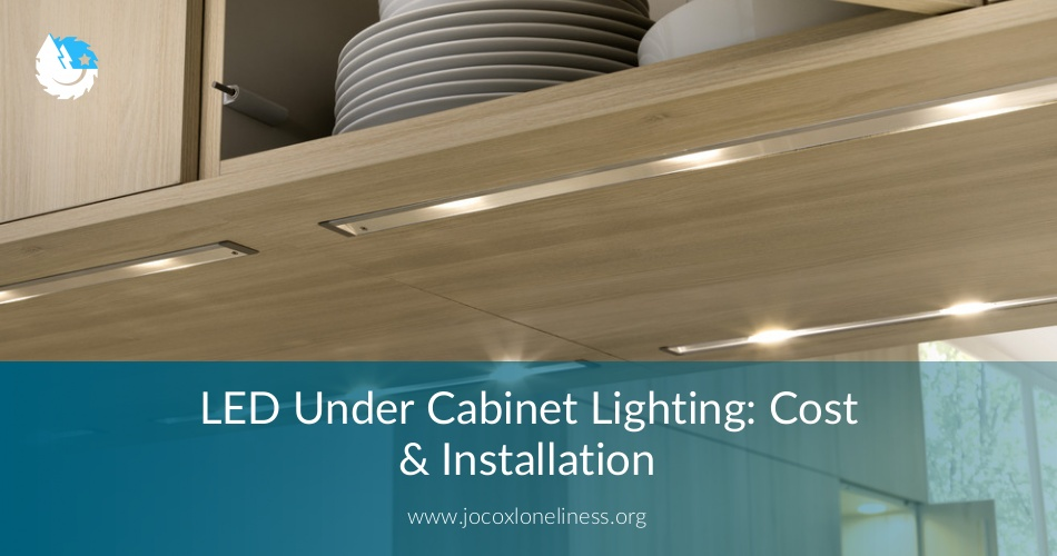 led under cabinet lighting cost installation contractorculture rh contractorculture com cost to install low voltage under cabinet lighting Easy Install Under Cabinet Lighting