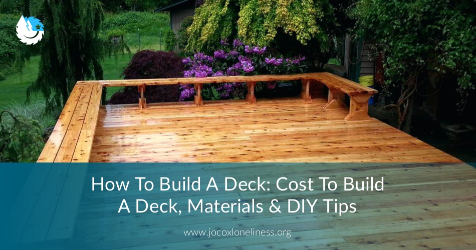 How To Build A Deck Cost Materials And Best Tips Earlyexperts