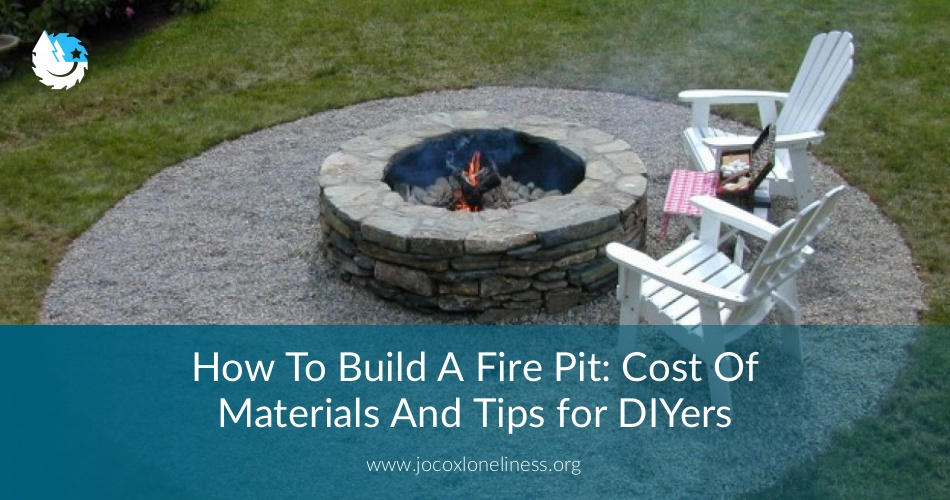 how to build a fire pit cost of materials practical tips for diyers. Black Bedroom Furniture Sets. Home Design Ideas
