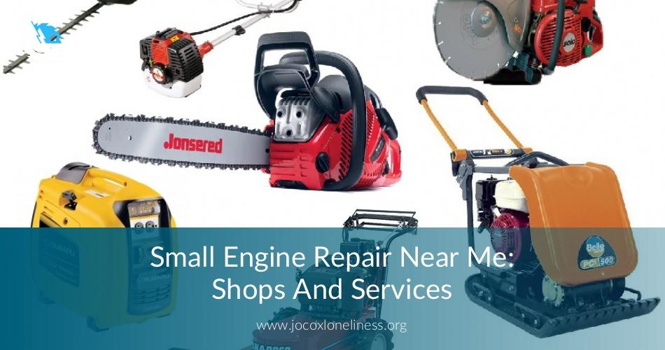 Engine Shops Near Me >> Small Engine Repair Near Me Services Checklist Free