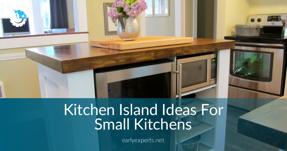 Kitchen Island Ideas For Small Kitchens & Spaces ...