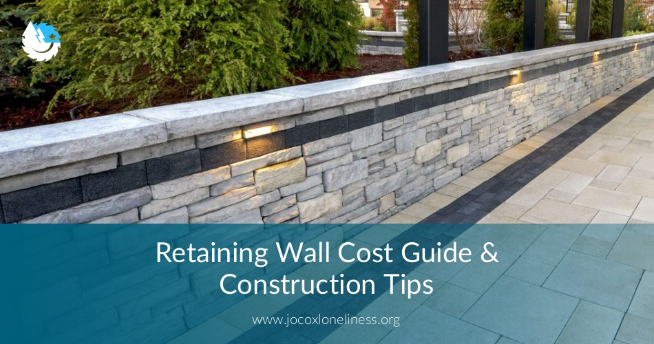 Retaining Wall Cost Guide Construction Tips Earlyexperts