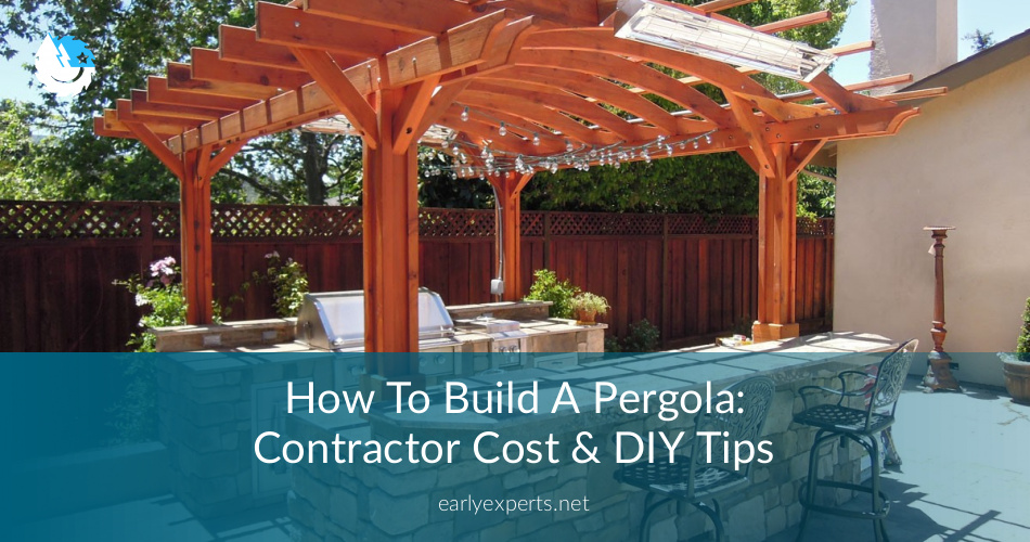 - How To Build A Pergola: Contractor Cost & DIY Tips ContractorCulture