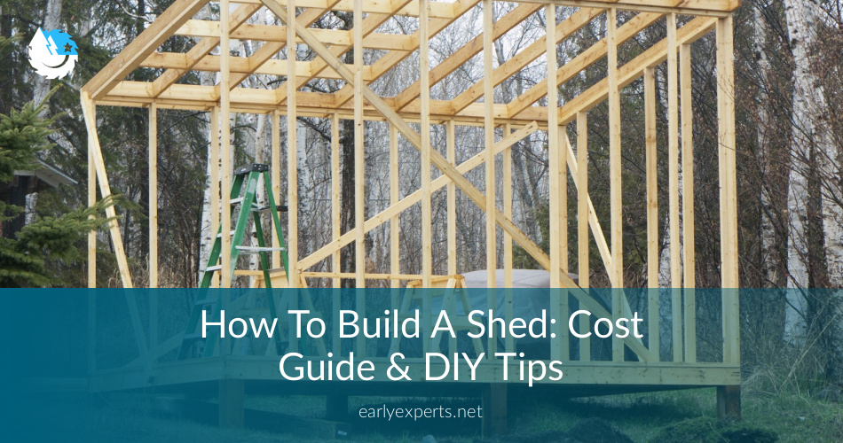 How Much Cost To Build A Garden Shed