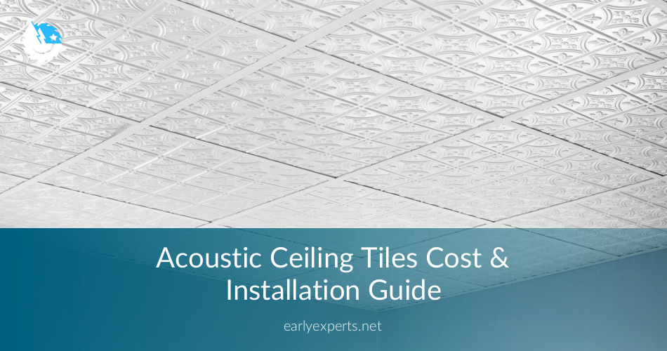 Acoustic Ceiling Tiles Cost Installation Guide 2019