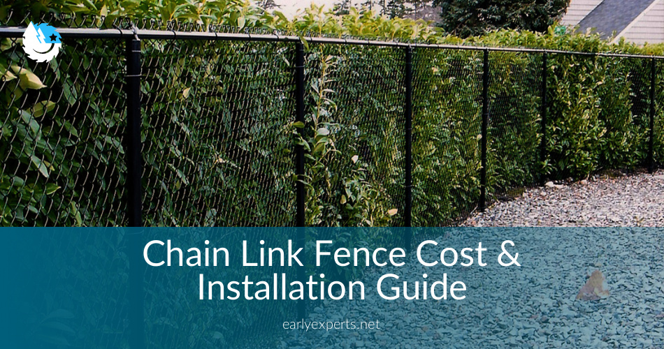 Chain Link Fence Cost Amp Installation Guide In 2019